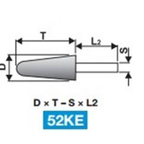Шлайфгрифери Абразиви с опашка форма 52KE TYROLIT
