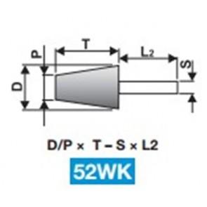 Шлайфгрифери абразиви с опашка форма 52WK TYROLIT