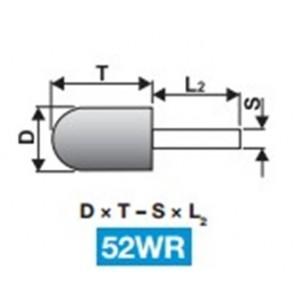 Абразиви с опашка Шлайфгрифери форма 52WR TYROLIT