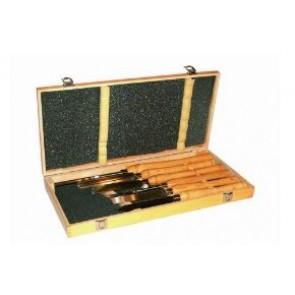 Комплект длета за дървобработващи стругове - 6 броя