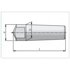Диамантени еднокаменни изравнители с Morse опашка по избор