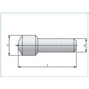 Диамантени еднокаменни изравнители с цилиндрична опашка по избор