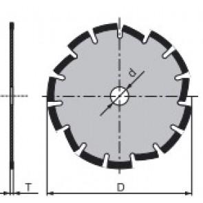 Диамантени дискове за рязане на строителни материали по избор